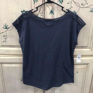 Short Sleeve Top by Loft